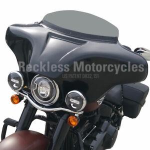 Batwing Fairing Harley Davidson Fatboy Heritage Softail Deluxe 4x5 25 Trim Ebay