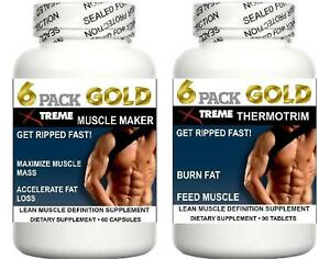 Details About Muscle Growth Pills Bodybuilding Abs Burn Fat Loss Feed Muscle Training Aid 2