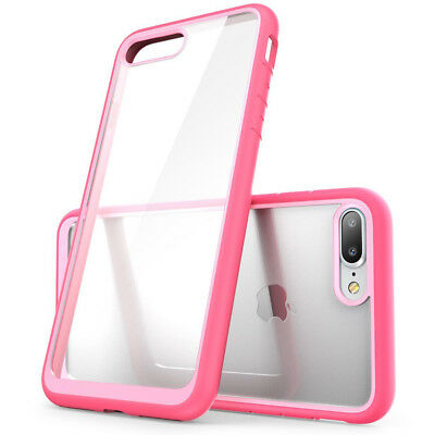 Hybrid TPU Slim Shockproof Phone Case Clear Hard Back Cover For iPhone 7 7 Plus