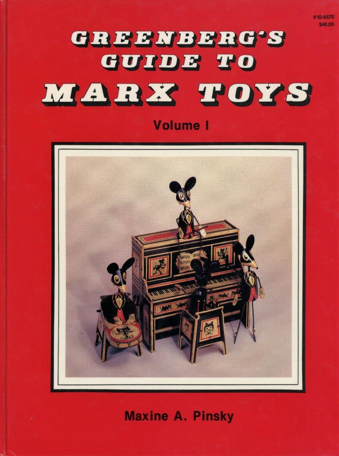 Vintage Marx tin toys 1923-1950 Modèles de dates de valeurs  RARE en profondeur Livre  réduction en ligne