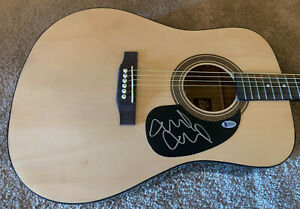 Mike McCready Pearl Jam Signed Autographed Acoustic Guitar Beckett Certified