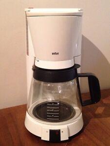 Original Braun Coffee Maker : Vintage White Braun 3095 KF150 Aromaselect Flavorselect 12 Cup Drip Coffee Maker eBay