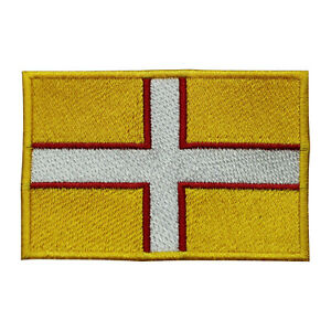Dorset County Flag Patch Iron On Patch Sew On Badge Embroidered Patch