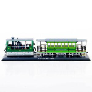 1//87 Atlas Tram Model G 3//3 SLM 1984 Diecast Car Model Truck Bus cars Gift Toy