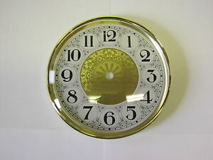 """6 1/4"""" Dial/Bezel Combo FANCY, complete kit with convex glass-EASY TO READ-NEW"""