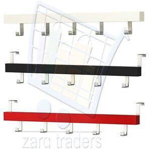ikea tjusig over door mounted coat hanger clothes rack ebay. Black Bedroom Furniture Sets. Home Design Ideas