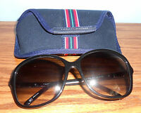 Tommy Hilfiger Black Frame W/ Gray Gradient Lens Th1001/s 807jj Sunglasses