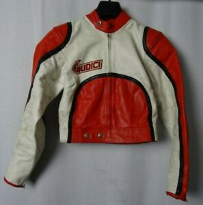 605bd3c566 Men's Vintage 1970'S GIUDICI Motorcycle Bikers Leather Jacket XXS ...