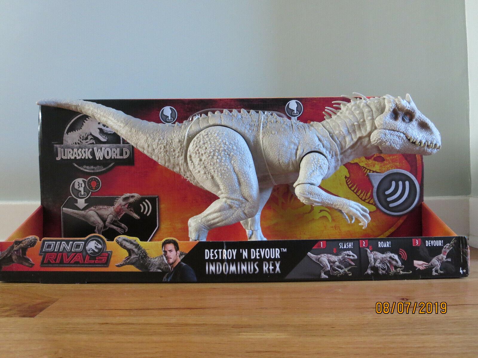 Mattel Jurassic World Dino  Rivals Destroy 'N Devour Indominus Rex  prix de gros et qualité fiable