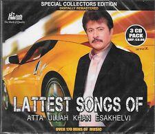 ATTA ULLAH KHAN ESAKHELVI - LATEST SONGS OF - 3CDs SET