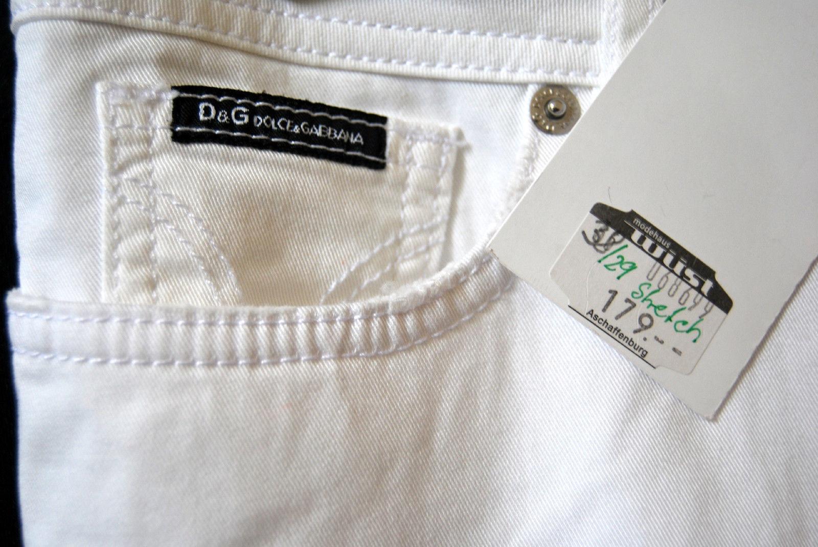 DOLCE&GABBANA Hose STRETCH NEU Gr. 38 W30 W30 W30  Original   EDEL Stiefel Cut 179 - D-2410 18d561