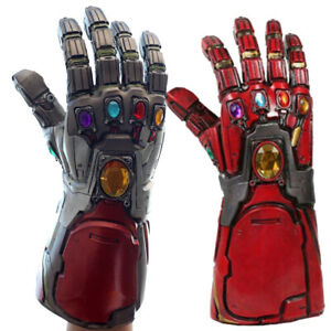 Details about Avengers Endgame Infinity Gauntlet Cosplay Iron Man Tony  Stark Gloves US STOCK