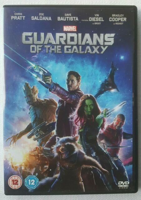 Guardians of the Galaxy 2014 Starring Chris Pratt Marvel UK Region 2 DVD