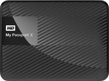WD - My Passport X 3TB External USB 3.0 Portable Hard Drive - Black