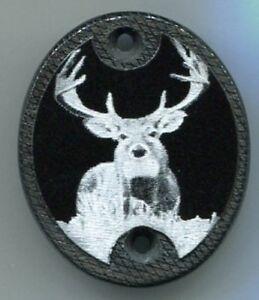 Remington 700 Bdl Gun Stock Grip Cap White Tail Deer Ebay