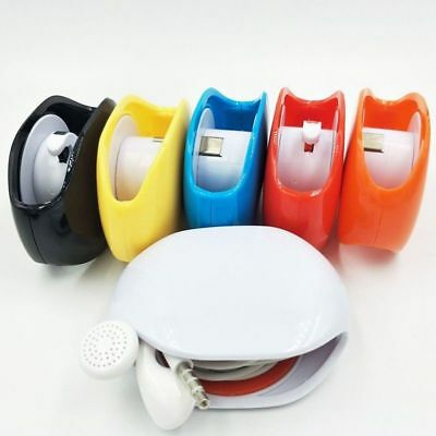 1 Cord Tangle-Free Portable Manager Wire Cable Winder Organizer Easy Retraction