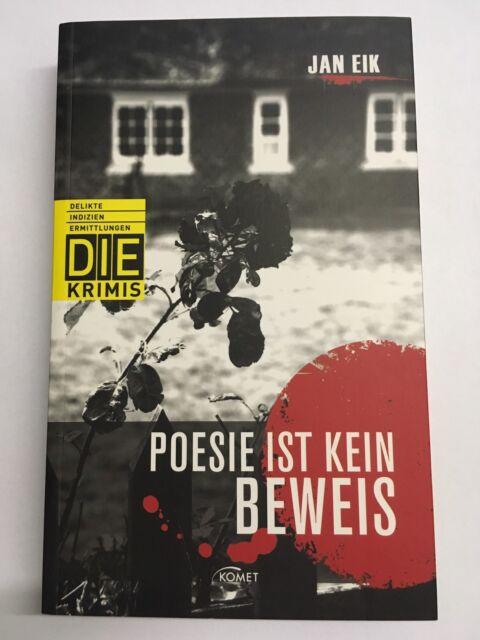 DIE Krimi: Poesie ist kein Beweis von Jan Eik (2012, Taschenbuch)