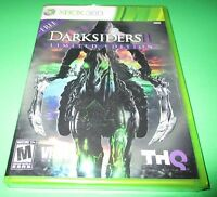 Darksiders Ii Limited Edition Xbox 360 Factory Sealed Free Shipping