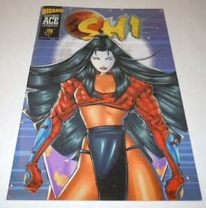 Shi-4-Comic-Crusade-VARIANT-Wizard-Ace-10-1st-Print-First-Appearance-Tomoe