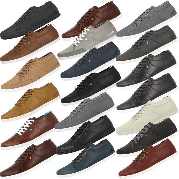 Boxfresh Sparko Basic caballero zapatillas de cuero Sparko 4 5 Leather cortos