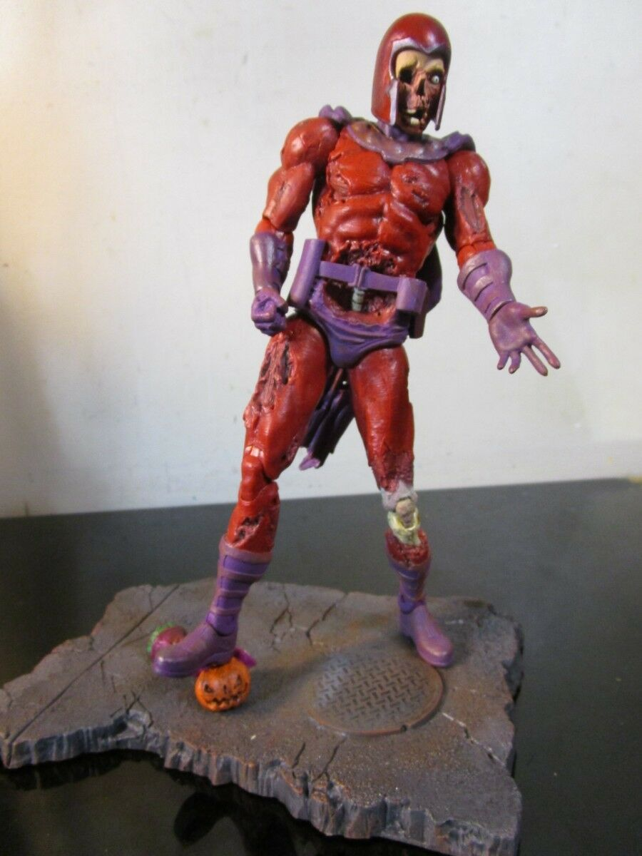 DIAMOND SELECT TOYS Marvel Select  Zombie Magneto Action Figure LOOSE