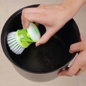 Kitchen-Dish-Washing-Cleaning-Up-Brush-Brushes-Easy-Scrubbing-Liquid-Detergentt