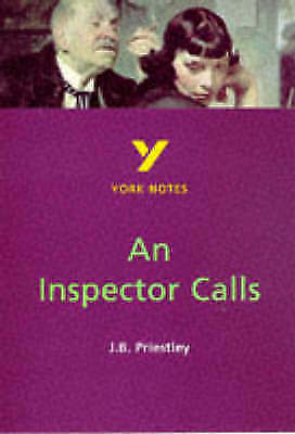 "1 of 1 - York Notes on J.B.Priestley's ""An Inspector Calls"" (York Notes), By Scicluna, Jo"