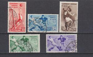 ITALY-1934-Football-World-Cup-Used-Sc-324-328-Sa-357-361