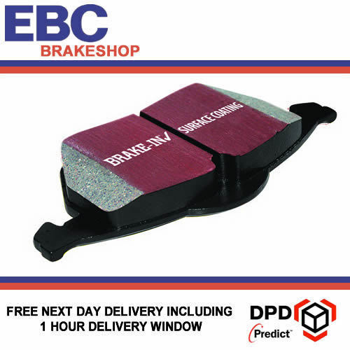 EBC Ultimax Brake pads for MG F Trophy 1.8 160Bhp DP13772001-2002