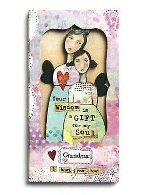 "Kelly Rae Roberts /""Love Angel Ornament Card/"" NIP"