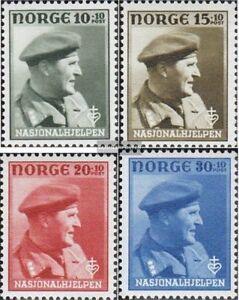 Norwegen-310-313-kompl-Ausg-postfrisch-1946-Nationalhilfe
