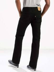 Levis-527-Slim-Fit-Boot-Cut-Jeans-Color-Native-Cali-Black-Stretch-0539