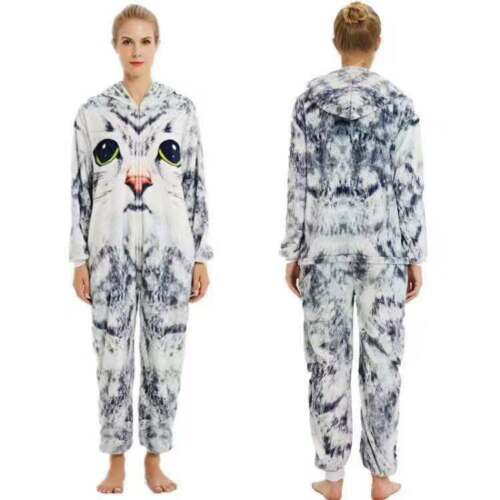 Animal Pajamas Unisex Adult Sleepwear Kigurumi Onesie11 Fancy Cosplay Costume AA