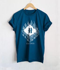 Blanc T-Shirt Slim Femme Harry Potter /'Ravenclaw/'