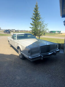 1977 Lincoln Continental Cartier