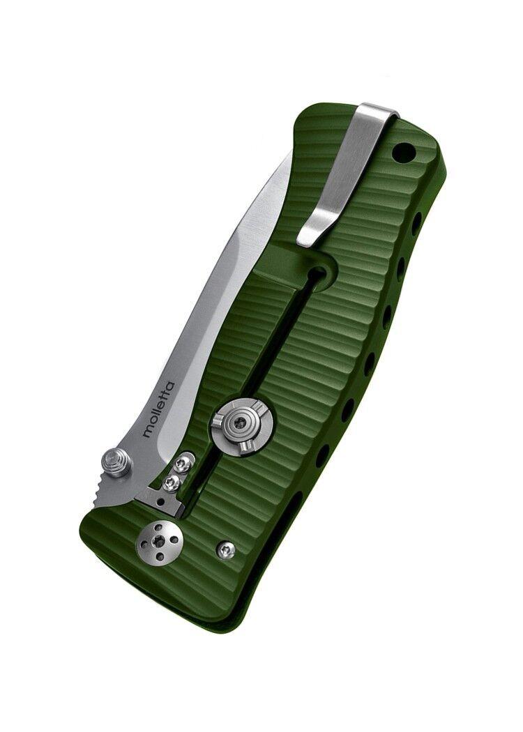 Lionsteel LS-SR1A Taschenmesser SR1 Aluminium Klappmesser Satiniert Klappmesser Aluminium Messer 21cm c2d194