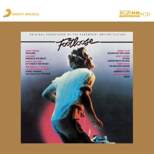 """""""Footloose Original Soundtrack"""" Limited Numbered Japan 100KHz/24bit K2HD CD New"""