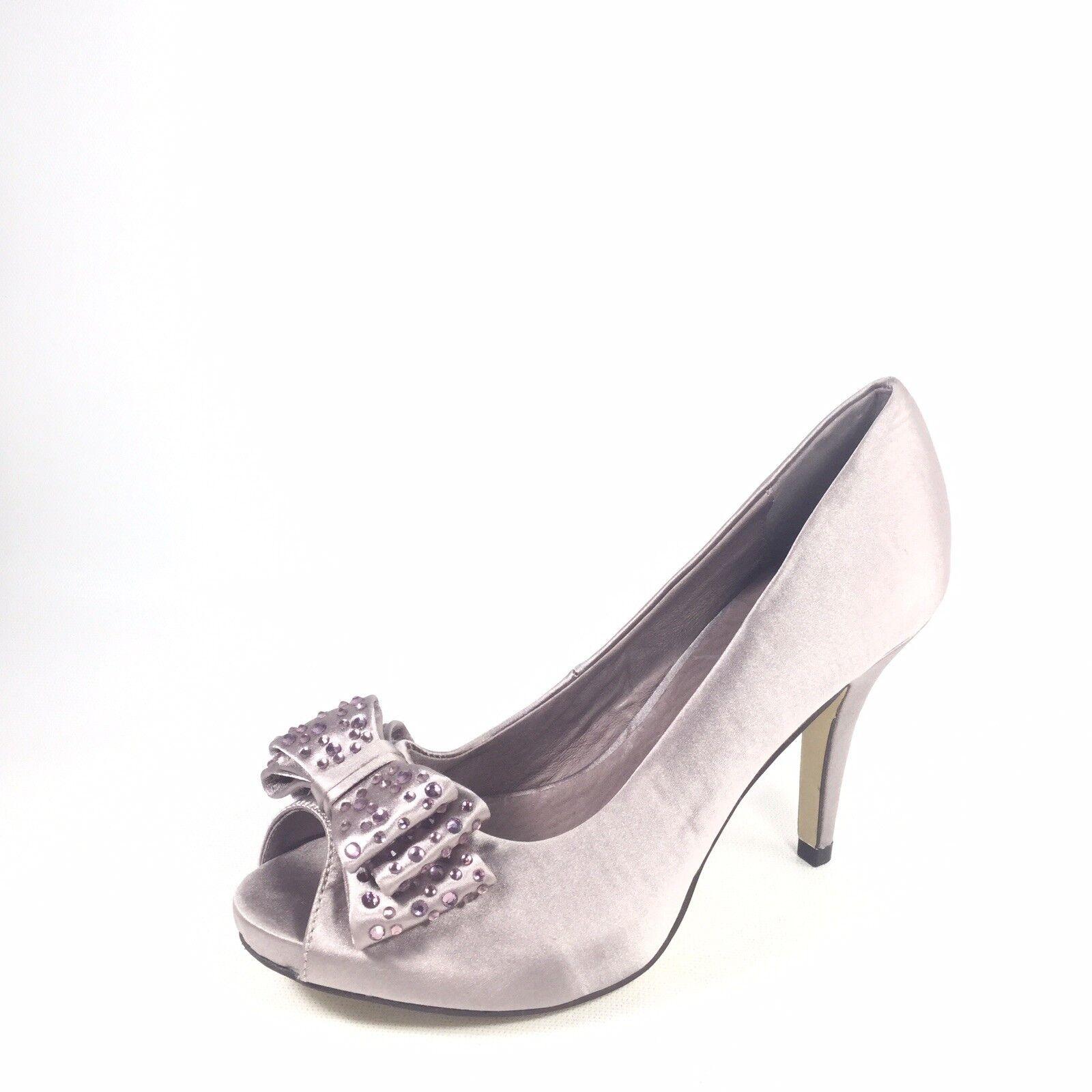 Menbur Womens Size Euro 35 M Heel Open Toe Dress shoes.