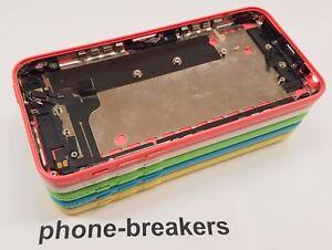 a82960ca473 La imagen se está cargando IPhone-5-C-chasis-Repuesto-Carcasa-Vacia-Caja-