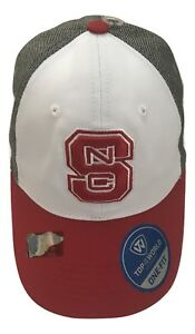 Details about 1X Top Of The World NC State   Wolf Embroidered Logos One Fit  Baseball Hat 15c459b2ef5d