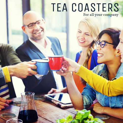 4 Set-Agate Druse géologie Roche Sous-Verres-Cuisine boissons Coaster Cadeau #3079