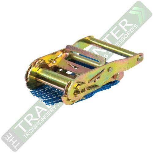 Correas de trinquete X 6 Resistente Tamaño 7m X 50mm 2000kg Guerrero BDV1574CP bdsl