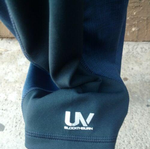 Speedo UV Block the Burn Short Sleeve Shirt New Navy Small