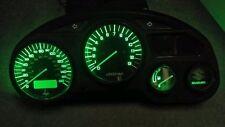 GREEN Suzuki gsxf katana 600 750  led dash clock conversion kit lightenUPgrade