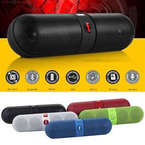 Bluetooth Wireless Mini Speaker FM Shockproof Stereo for SmartPhone Laptop PC