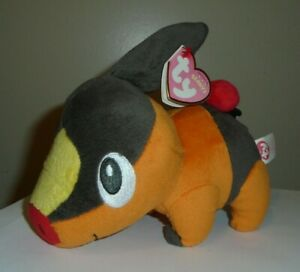 NM* Ty TEPIG the Pokemon Beanie Baby (UK Exclusive)(6 Inch) MINT with FADED TAG