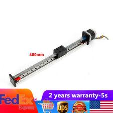 400mm Nema23 Cnc Linear Actuator Slide Stage Positioner Cnc Mill Lathe Machine