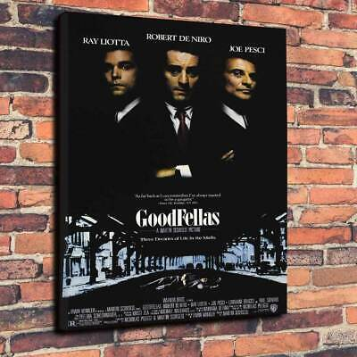 Goodfellas Gangster Movie Printed Box Canvas Picture Multiple Sizes..