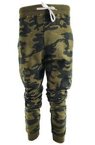 REGNO-Unito-uomo-camouflage-mimetico-Allenamento-Pantaloni-Sportivi-Pantaloni-Pantaloni-Sport