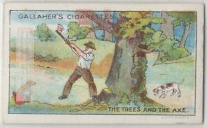 The-Trees-And-The-Ax-Aesop-039-s-Fable-Moral-Story-1920s-Ad-Trade-Card